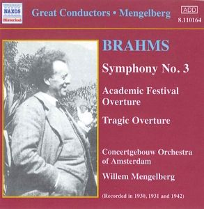 Sinfonie 3/Ouvertüren, Willem Mengelberg, Concertgebou