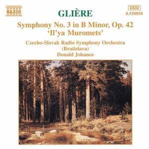 Sinfonie 3Il'Ya Muromets, Johanos, Tschech.-Slowak.RSO