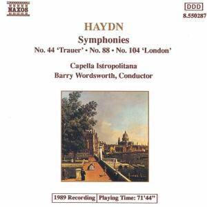 Sinfonie 44&104, Barry Wordsworth, Cib