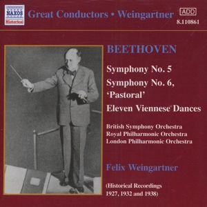 Sinfonie 5+6, Felix Weingartner
