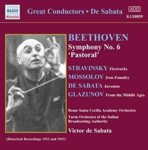 Sinfonie 6/+, De Sabata, Turin Orchestra Of T