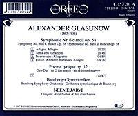 Sinfonie 6 C-Moll Op.58/Poeme Lyrique Op.12 - Produktdetailbild 1