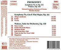 Sinfonie 6/Walzer Op.110 - Produktdetailbild 1