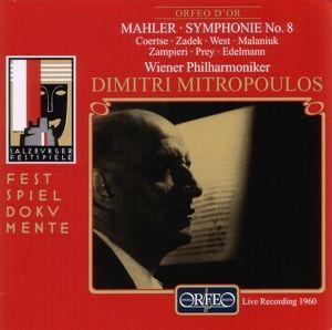 Sinfonie 8 Es-Dur, Zadek, Coertse, Prey, Edelmann, Mitropoulos, Wp