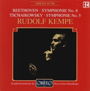 Sinfonie 8 F-Dur Op.93/Sinfonie 5 E-Moll Op.64, Kempe, Sobr