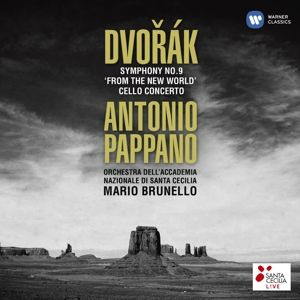 Sinfonie 9 & Cellokonzert, Antonio Pappano, Brunello, Oascr