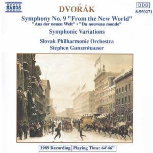 Sinfonie 9*Naxos, Gunzenhauser, Slowak.Philh.