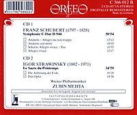 Sinfonie C-Dur D 944/Le Sacre Du Printemps - Produktdetailbild 1
