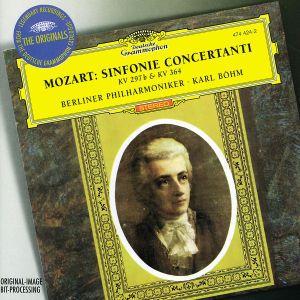 Sinfonie Concertanti Kv 297,364, Karl Böhm, Bp