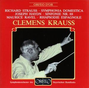 Sinfonie Hob.I:88/Rhapsodie Espagn./Sinf.Domestica, Krauss, Sobr