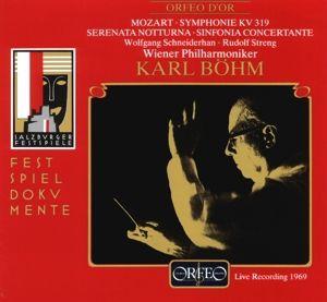 Sinfonie Kv 319/Serenata Kv 239/Concertante Kv 364, Schneiderhan, Streng, Böhm, Wp