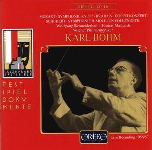 Sinfonie Kv 385/Doppelkonzert/Unvollendete, Schneiderhan, Mainardi, Böhm, Wp