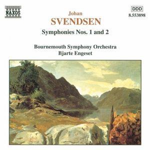 Sinfonie Nr. 1 op. 4 D-dur / Nr. 2 op. 15 B-dur, Engese, Boso