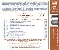 """Sinfonie Nr. 2 op. 52 B-dur """"Lobgesang"""" - Produktdetailbild 1"""