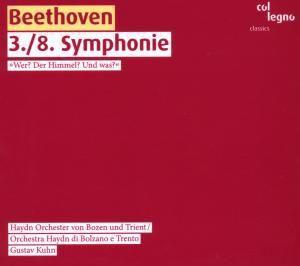 Sinfonie Nr. 3 & 8, Haydn Orch.Bozen Und Trient, G. Kuhn