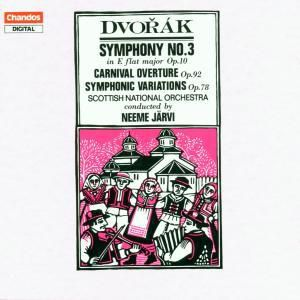 Sinfonie Nr. 3 op. 10 Es-dur / Karneval op. 92 Ouvertüre / Sinfonische Variationen op. 78, Neeme Järvi
