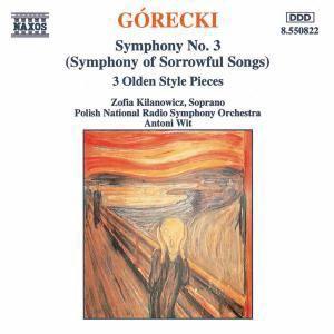 Sinfonie Nr. 3 op. 36  Sinfonie der Klagelieder / 3 Stücke im alten Stil, Kilanowicz, Wit, Polnisches Nrso