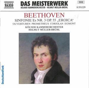 Sinfonie Nr. 3 & Ouvertüren, Helmut Müller-Brühl, Kölner Kammerorchester