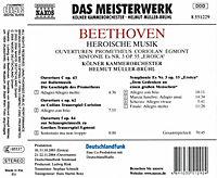 Sinfonie Nr. 3 & Ouvertüren - Produktdetailbild 1