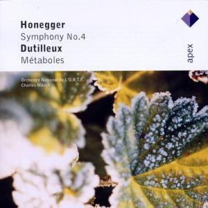 Sinfonie Nr. 4 & Metaboles, Charles Münch, Onortf