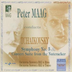 Sinfonie Nr. 5 & Concert Suite, RAI Di Roma So, Peter Maag
