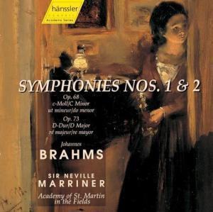Sinfonien 1+2, Johannes Brahms