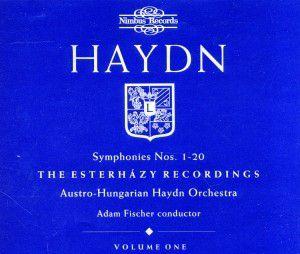 Sinfonien 1-20, Adam Fischer, Austro-Hungarian Haydn Orchestra