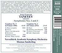 Sinfonien 1+3 - Produktdetailbild 1