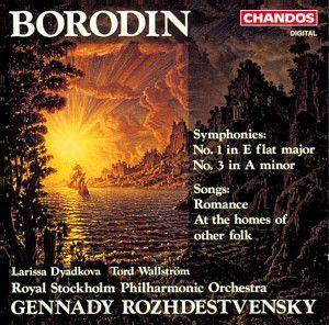 Sinfonien 1+3/romanze F.bar./+, Wallström, Roshdestwenskij, Spo