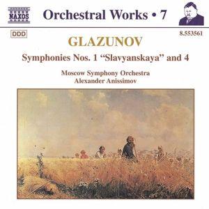 Sinfonien 1+4, Alexander Anissimow, Moso