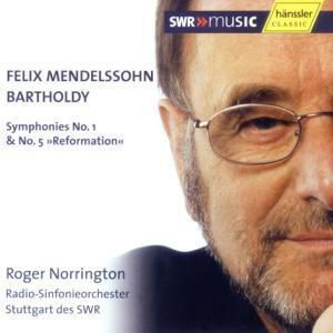Sinfonien 1+5, Felix Mendelssohn Bartholdy