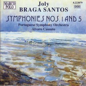 Sinfonien 1+5, Cassuto, Portugies.Sinf.Orch.