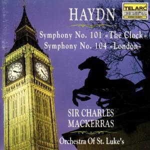 Sinfonien 101 & 104, Charles Mackerras