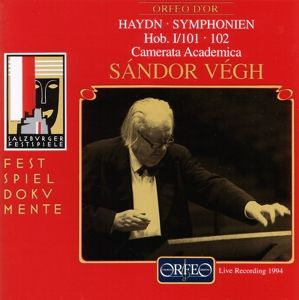 Sinfonien 101 D-Dur/102 B-Dur, Sandor Vegh, Camms