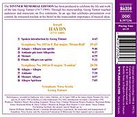 Sinfonien 103+104 - Produktdetailbild 1