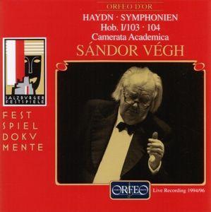 Sinfonien 103 Es-Dur/104 D-Dur, Sandor Vegh, Camms