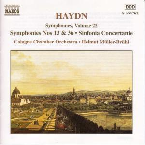 Sinfonien 13+36/Sinfonia C, Helmut Müller-Brühl, Kölner Kammerorchester
