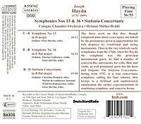 Sinfonien 13+36/Sinfonia C - Produktdetailbild 1