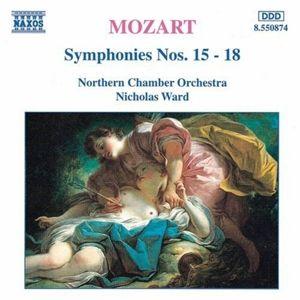 Sinfonien 15-18, Nicholas Ward, Northern Chamber Orchestra