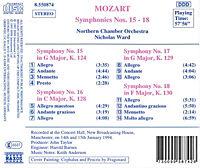 Sinfonien 15-18 - Produktdetailbild 1