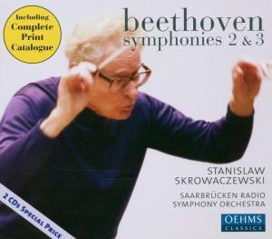 Sinfonien 2 & 3, S. Skrowaczewski, Rsosb