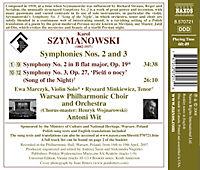 Sinfonien 2+3 - Produktdetailbild 1