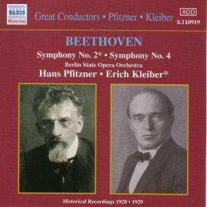 Sinfonien 2+4, Hans Pfitzner, Erich Kleiber, Bs