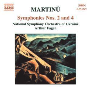 Sinfonien 2+4, Arthur Fagen, Nso Ukraine