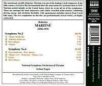 Sinfonien 2+4 - Produktdetailbild 1