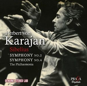 Sinfonien 2 & 4, Herbert von Karajan, Philharmonia Orchestra
