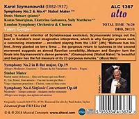Sinfonien 2 & 4,Stabat Mater - Produktdetailbild 1