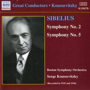Sinfonien 2+5, Serge Koussevitzky, Boston So