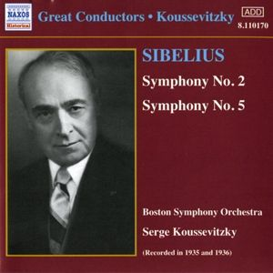 Sinfonien 2+5, Serge Koussevitzky, Boston So