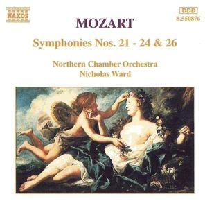 Sinfonien 21+22+23+24+26, Nicholas Ward, Northern Chamber Orchestra